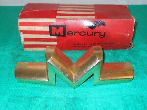 1958 Mercury Medalist Monterey Montclair Park Lane NOS GRILLE M EMBLEM ORNAMENT