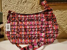 Vera Bradley New with Tags On the Go Crossbody Bag in Houndstooth Tweed RV $70