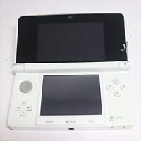 Used Nintendo 3DS Pure White color Manufacturer End Video Game Good Condition