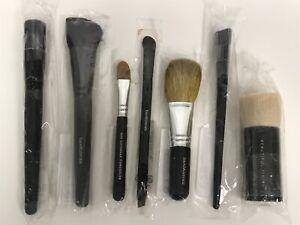 7pc Bareminerals Makeup Brush Set Set of 7 Makeup Brushes NEW SEALED