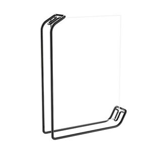 Plating Metal Picture Frames 8 Inch L-Shaped Photo Poster Art with Acrylic Board