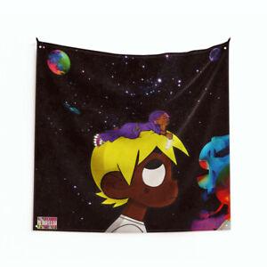 """Lil Uzi Vert """"LUV vs. The World 2"""" Art Music Album Poster Tapestry Flag 3FT/4FT"""