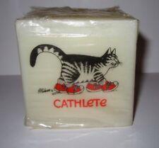 "Vintage 1971 B Kliban Cat Candle Square 3"" American Greetings NEW"