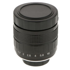 35mm F1.7 Camera Fixed Lens for Canon Nikon Sony Fujifilm Olympus Panasonic