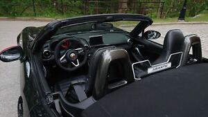 Fiat 124 Spider Custom Etched WindRestrictor brand windscreen