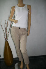 ★ Zara Basic Bundfaltenhose beige Chino Hose Gr. M 38 40 Stoffhose Damen vintage