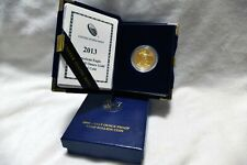 2013 W US Mint Collectors $25 Proof American Gold Eagle 1/2 oz Coin With Box&COA