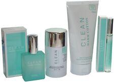 Clean Warm Cotton Set 4-tlg ( Eau de Parfum , Deo Stick, Duschgel , Rollerball )