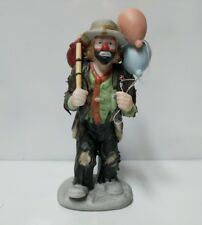 Balloons Miniature Clown figurine by Flambro by Emmett Kelly Jr