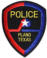 PLANO TEXAS TX Sheriff Police Patch LONE STAR STATE ~