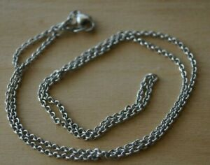 """James Avery FINE CABLE CHAIN Sterling Silver 18"""""""