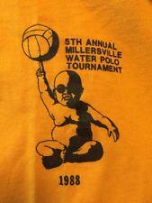vintage 1988's Annual Millersville Water Polo Tournament Sportswear T Shirt.