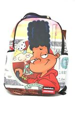 "Sprayground Backpack:Hey Arnold ""Crusin"" W/ Multiple Pockets, Laptop Compartment"