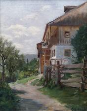 Landschaft. Sign.: CA BURKHART 1910.