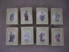 The International Santa Claus Collection Lot of EIGHT New in Box