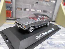 OPEL B Coupe Commodore GS/E grau grey mit schwarzem Dach Schuco 1:43