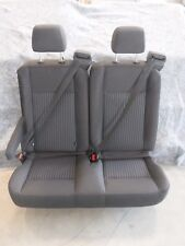 "Ford Transit OEM Seat; Charcoal/Black Cloth; 36"" Dual Pass;w/ Hardware Universal"