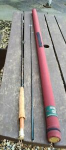 A SUPERB ORVIS TRIDENT TLS FLY ROD 9FT #6 LINES ROD IS MINT IN ORIGINAL TUBE