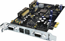 RME HDSPE AIO: 38-Channel 24-bit/192khz PCI Express Card-NEUF!