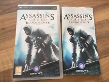 PSP:               ASSASSIN'S CREED BLOODLINES               PAL FR