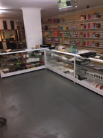 Retail Counter 1800mm - RETAIL DISPLAY COUNTERS - SHOP COUNTERS - (R1511,R1512)