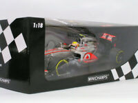 Mini Champs 1/18 Mclaren Mercedes Mp4 26 Lewis Hamilton 2011 Vodafone Mini Car