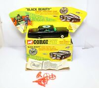Corgi 268 The Green Hornet Black Beauty In Its Original Box - Near Mint Working
