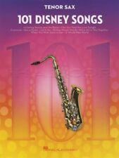101 Disney Songs for Tenor Sax Saxophone Sheet Music Book Frozen Lion King Moana