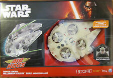 Star Wars The Force Awakens MILLENIUM FALCON AIR HOGS QUAD RC DRONE