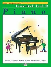 NEW - Alfred's Basic Piano Library Lesson Book, Bk 1B