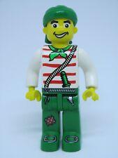 LEGO Minifig 4j013 @@ Pirates - Jolly Jack Crow - 7070 7075