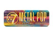 W7 Metal Pop Soft Metallic Shimmers Eyeshadow Palette **FREE P&P**