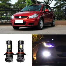 2x Canbus H11 3030 21SMD LED DRL Daytime Running Fog Lights Bulbs For Suzuki SX4