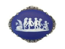 Vintage Wedgwood Cameo Sterling Silver Pin/Brooch,  Extremely Rare!!!