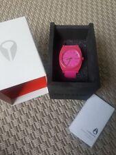 Nixon Time Teller - Uhr, pink, top Zustand