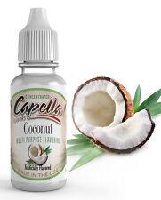 Capella Flavoring Coconut Flavor Concentrate 13ml water shakes