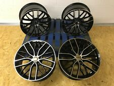 """SET OF 4 - 19"""" STAGGERED BMW M5 M6 STYLE ALLOY WHEELS 2 3 4 5 SERIES GTX"""