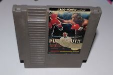Punch out Mike tyson Nintendo nes American version acceptable conditions