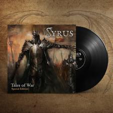 SYRUS - Tales of War (LIM.300 BLACK VINYL+BONUS*US TEXAS METAL KILLER*JAG PANZER