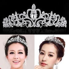Bling Wedding Bridal Princess Crystal Rhinestone Prom Hair Tiara Crown Headband