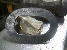Blacksmith Forged Oval   Flint & Steel Striker Fur trade, firemaking,camping