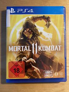 Sony ps4 mortal kombat 11 100% uncut