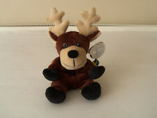 "COCA-COLA BEANIE ""BALTIC"" REINDEER-PLUSH COLLECTION 1998-NEW w. TAGS"