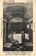 CPA PARIS (2e) 9, Bd des Italiens Restaurants Italiens POCCARDI (564479)