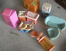 Large Lot of Miscellaneous Doll Furniture Look
