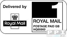 1000 Royal Mail PPI ONLY Labels SQUARE PPI / PPI-02-21 (21s) 1st 2nd Class