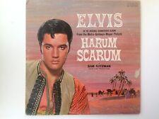 ELVIS PRESLEY HARUM SCARUM ORIGINAL SOUNDTRACK STEREO RECORD LP
