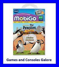 NEW!!! Vtech MobiGo Game - Penguins of Madagascar