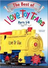 The Best of I Love Toy Trains Parts 1-6 DVD NEW kids dinosaur steam diesel