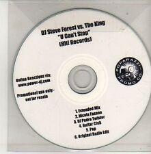 (CU696) DJ Steve Forest vs The King, U Can't Stop - DJ CD